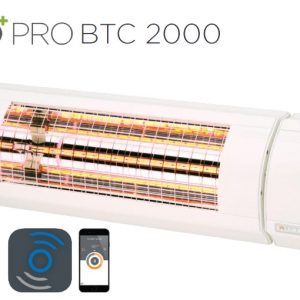 Solamagic - 2000 ECO+ PRO Patio Heater - Bluetooth Controlled - White