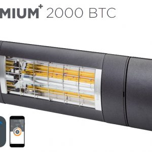 ​Solamagic - 2000 Premium BTC Patio Heater - Antracite - 5 Years Warranty