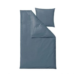 Södahl - Edge Bedding 140 x 220 cm - China Blue (727822)