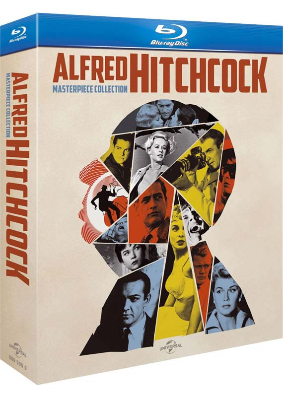 Alfred Hitchcock: Masterpiece Collection (14 film) (Blu-ray)