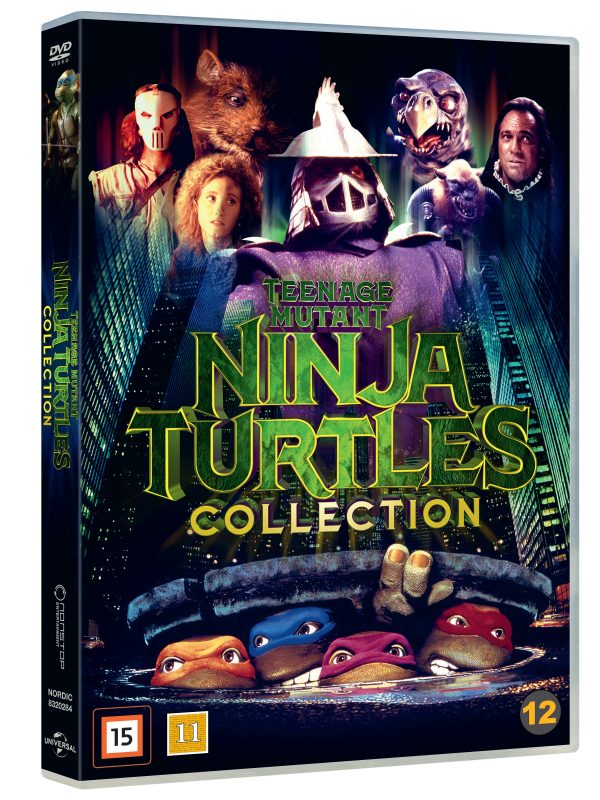 Teenage Mutant Ninja Turtles Box - Dvd