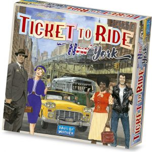 Ticket to Ride - New York (English)