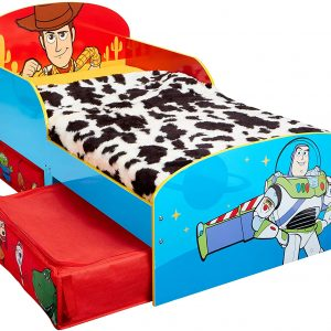 Toy Story 4 Kids Toddler Bed with Storage - (509TYY01EM)