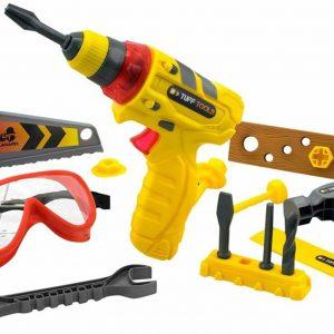 Tuff Tools - Multi-Tool Set w. Light and Sound - Power Drill
