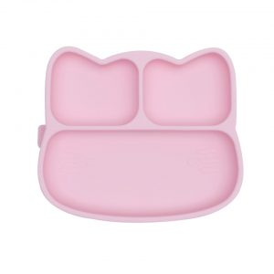 We Might Be Tiny - Cat Stickie Plate, Powder pink (28TICP01)