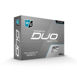 Wilson - Duo Soft+ White Womans 12 pack Golf Balls