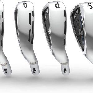 Wilson Golf D7 Iron Set, 7-Piece Iron Set of 5, 6, 7, 8, 9, PW and SW Graphite Shaft