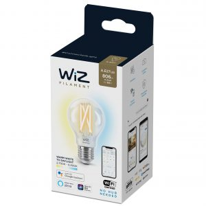 WiZ - A60 Clear bulb E27 Tunable white - Smart Home