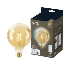 WiZ - G125 Amber Globe E27 Tunable white - Smart Home
