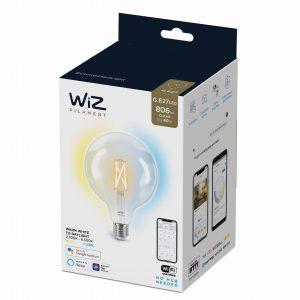 WiZ - G125 Clear globe E27 Tunable white
