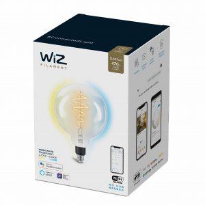 WiZ - G200 Clear globe E27 Tunable white - Smart Home