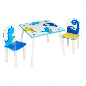 Dinosaur - Kids Table and 2 Chairs Set (527DIE01NE)