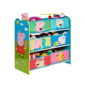 Peppa Pig - Kids Toy Storage Unit (471PIG01E)