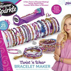 Shimmer 'n' Sparkle - Twist'N'Wear Bracelet Maker (20-00219)
