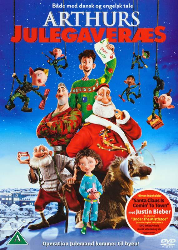 Arthurs Julegaveræs/Arthur Christmas - DVD