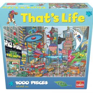 Goliath - That's Life - Puzzle - New York (1000pcs) (71386)