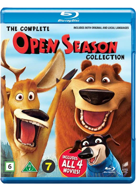 The Complete Open Season Collection (Blu-Ray)