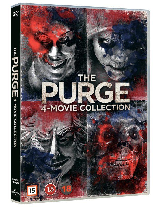 The purge 1-4 - DVD