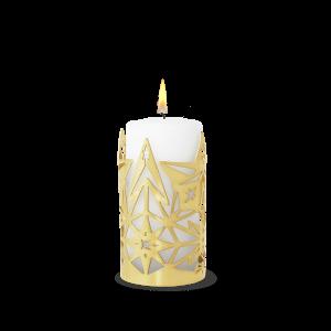 Rosendahl - Karen Blixen Candle Holder 16 cm - Gold (32359)
