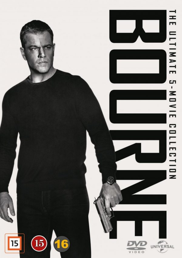 Bourne - 1-5 Collection (5 disc) - DVD