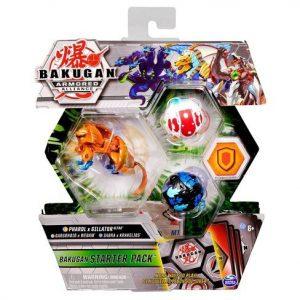 Bakugan - Starter Pack S2 - Pharol x Gillator Gargonoid x Webam Sabra x Krakelios (20125527)