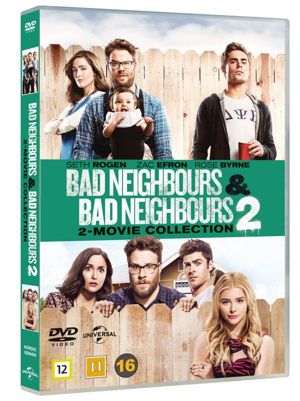 Bad Neighbours 1 + 2 - DVD
