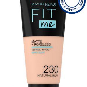 Maybelline - Fit Me Matte + Poreless Foundation - 230 Natural Buff