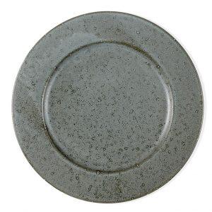 Bitz - 2 x Plate Ø 27 cm - Grey - (Bundle)