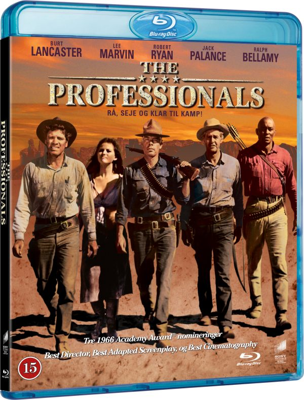 Professionals, the - Blu ray