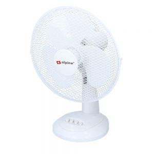 ALPINA - Fan Table Fan 30cm White