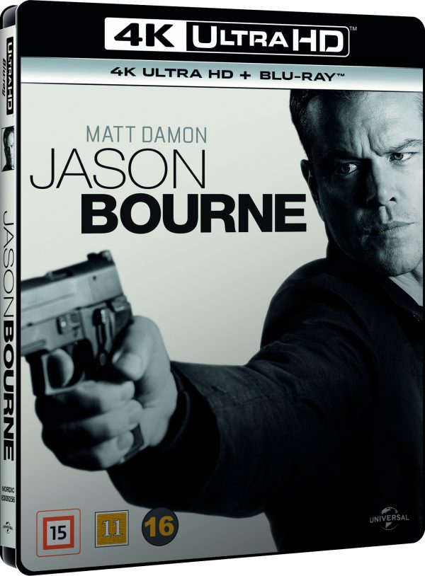 Jason Bourne (4K Blu-Ray)