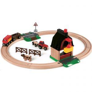 BRIO - Farm Railway Set (33719)