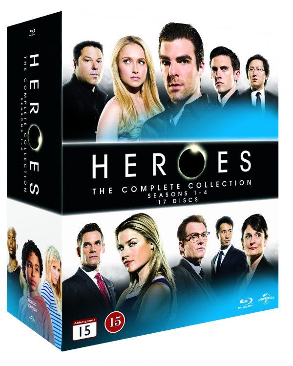 Heroes: Complete Box - Season 1-4 (17 disc)(Blu-Ray)