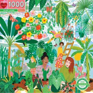 eeBoo - Puzzle - Plant Ladies, 1000 pcs (EPZTPTL)