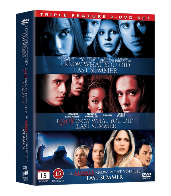 I Know What You Did Last Summer 1-3 Boxset