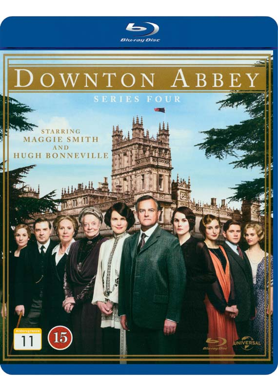 Downton Abbey: Series 4 (Blu-ray)
