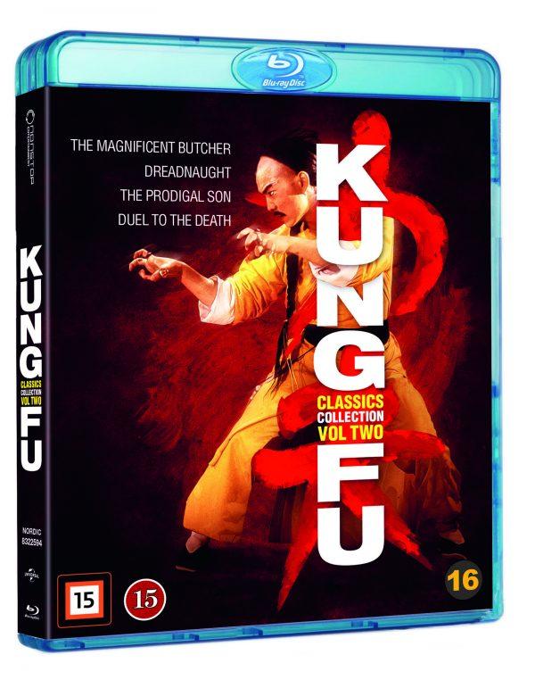 Kung-Fu Classics Collection Vol 2 - Blu ray