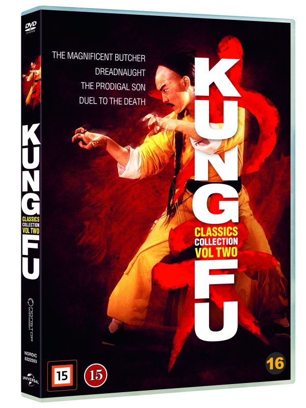 Kung-Fu Classics Collection Vol 2 - DVD