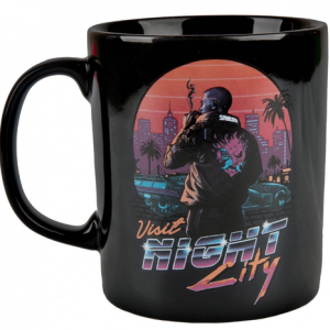 Cyberpunk 2077 Night City Sunset Mug