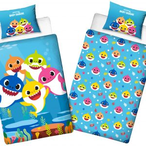 Bed Linen - Adult Size 140 x 200 cm - Baby Shark (BSH006)