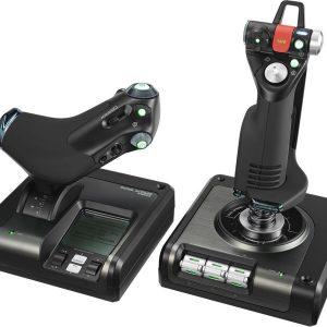 Logitech - G Saitek X52 Pro Flight Control System