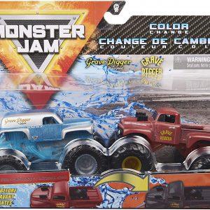 Monster Jam 1:64 2 Pack - Grave Digger The Legend & Grave Digger