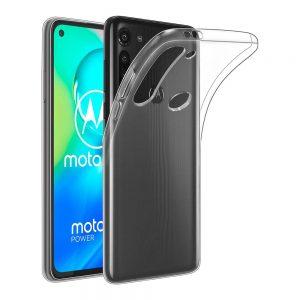 Motorola G8 Power Läpinäkyvä Suojakuori