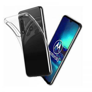 Motorola Moto G8 Läpinäkyvä Suojakuori