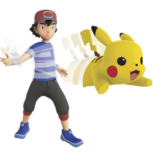 Pokémon - Feature Figure - 11cm - Ash + Pikachu (96271)