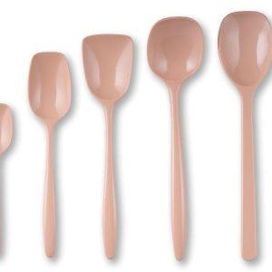 Rosti - Spoon Set of 5 - Nordic Blush (243009)
