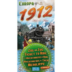 Ticket To Ride - Europe 1912 Expansion Pack