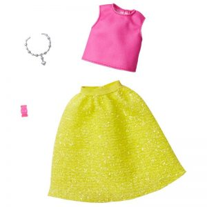 Barbie - Complete Looks - Pink Top &Yellow Skirt (GHW82)