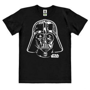 Star Wars - Darth Vader - Portrait - Easyfit Organic - black - Original licensed product