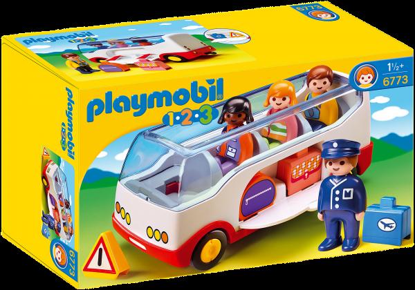 Playmobil 1.2.3 - Bus (6773)